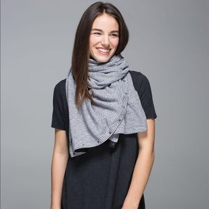 Lululemon Vinyasa Scarf Rulu Mini Check Pique